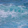 Ocean water splashing waves
