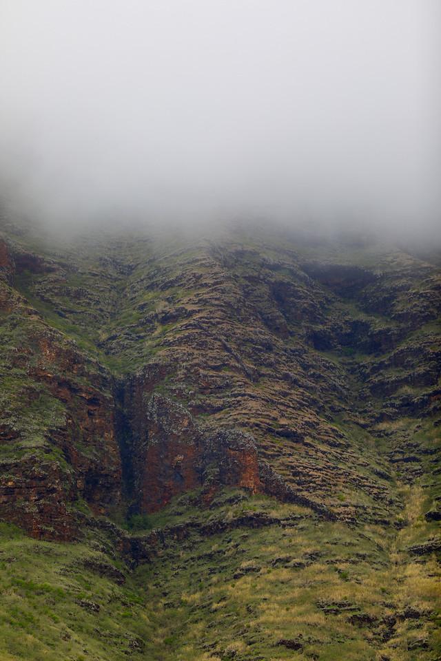 Fog over the mountain