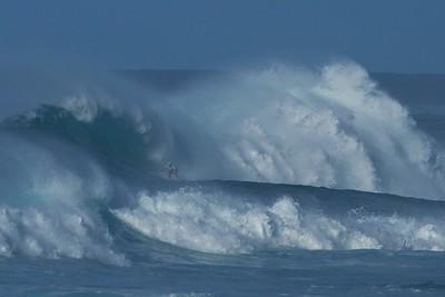 Insane Paddleboard Surfing, Sunset Beach, Oahu