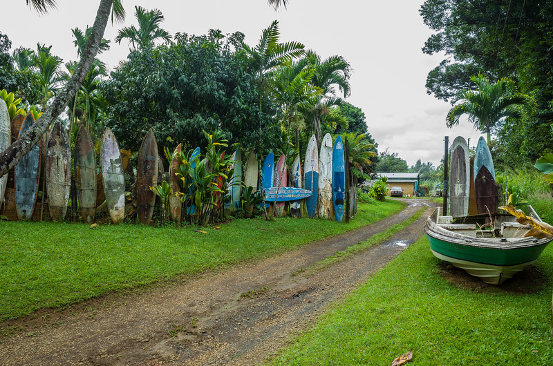 Maui Surfboard Fence