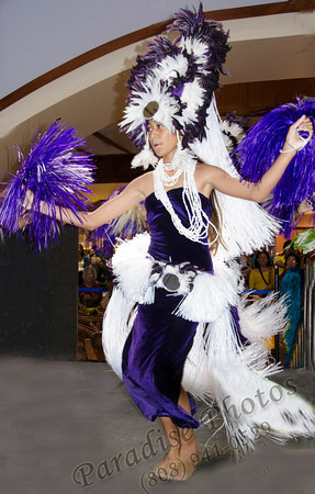 Hula dancer purple 0912 5372