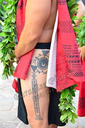 Blaine leg tatoo 824