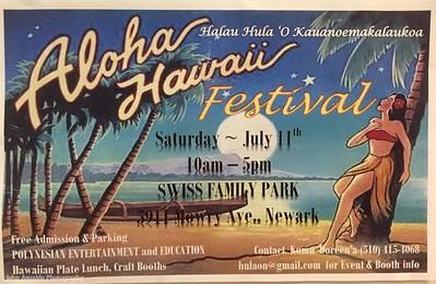 Aloha Hawaiian Festival 2015