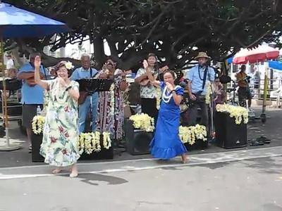 Hula Dancers in Lahaina, Maui, Mini Movie