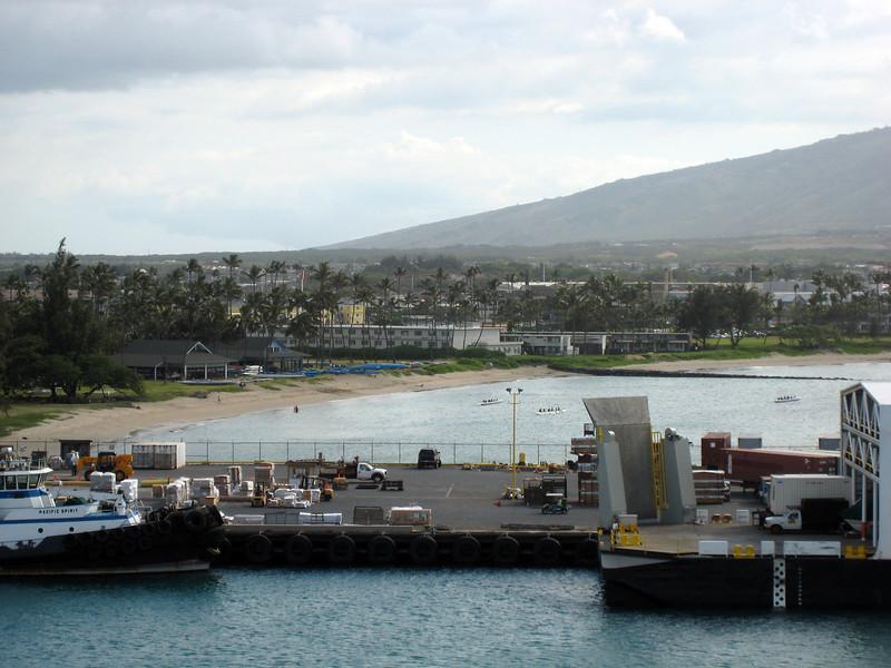 Docked in Maui