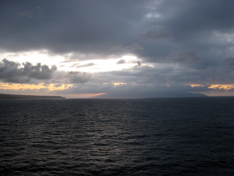NCL Pride of Hawaii Sunset Leaving Maui