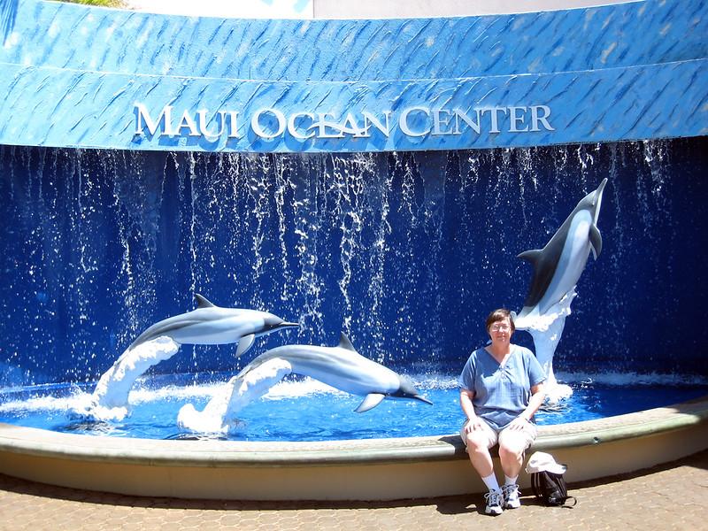 Pat at Maui Ocean Center