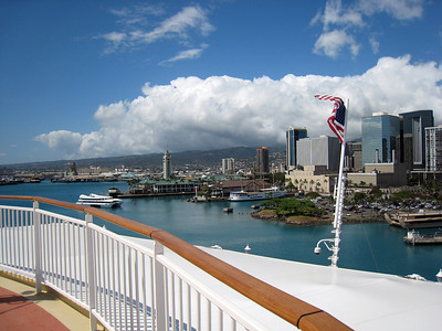 Embarcation and Departing Honolulu