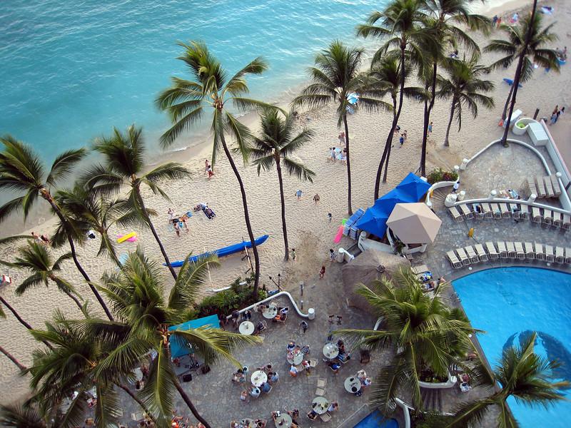 Outrigger Waikiki Resort and Waikiki Beach