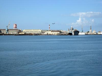 Pearl Harbor From USS Arizona Memorial