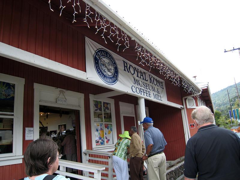 Royal Kona Coffee Mill & Museum