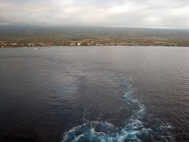 Departing Kona