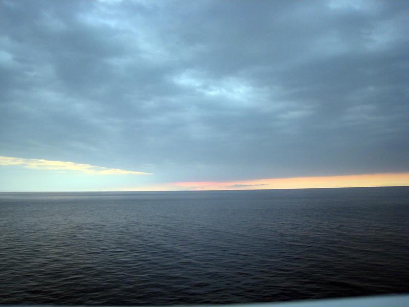 Departing Kona