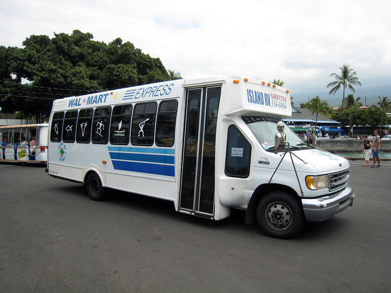 Tendered in Kona - Walmart Shuttle