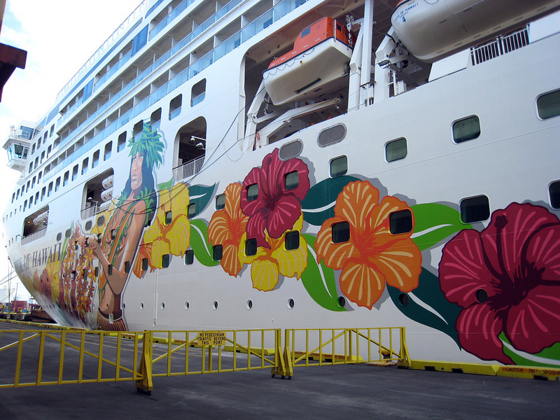Docked in Hilo
