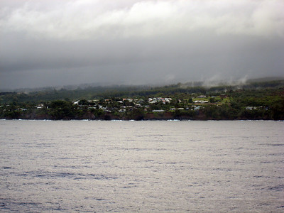 Arriving Hilo on Hawaii - The Big Island