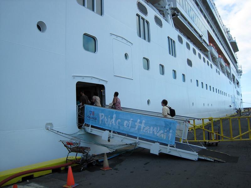 Docked in Hilo
