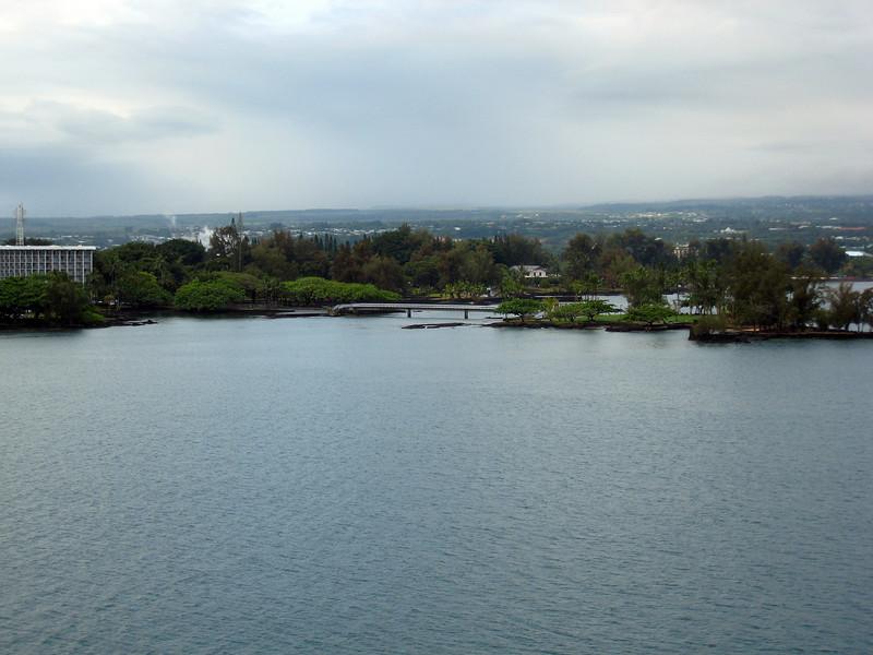 Arriving Hilo on Hawaii - The Big Island