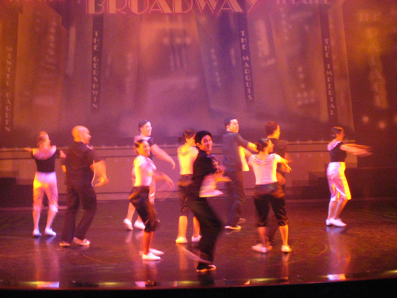 Broadway Show in Stardust Theater
