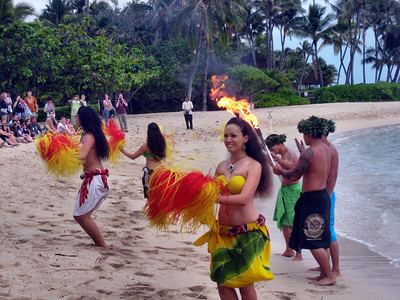 Hawaiian Luau at Paradise Cove