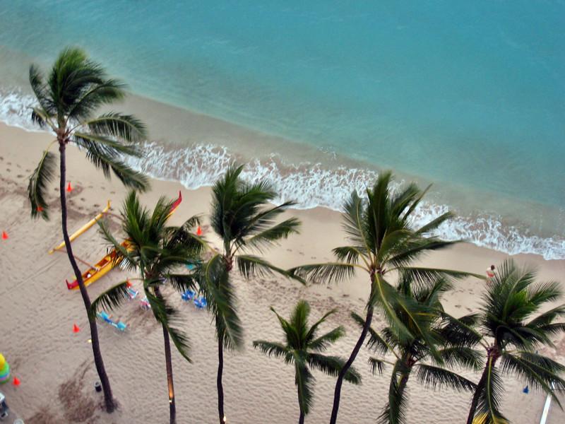 Outrigger Waikiki Hotel and Waikiki Beach Area Scenes