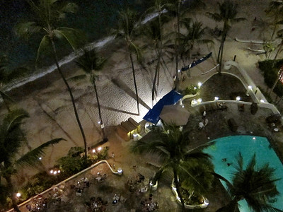 Outrigger Waikiki Beach Hotel and Waikiki Scenes