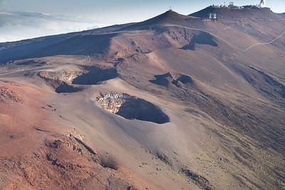 Haleakala Crater (East Maui Volcano).