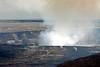 Halema`uma`u Crater after explosion~taken from Jagger Museum
