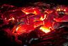 Unimaginable heat from molten lava.
