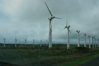 Pakini Nui Wind Farm, Kau Region, Hawaii