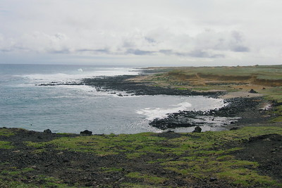 Looking toward the Southernmost point in the US, Kau Region, Hawaii