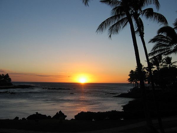 Sunset at Waikoloa