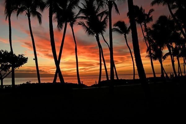 Maui Sunset - Nikon P5100
