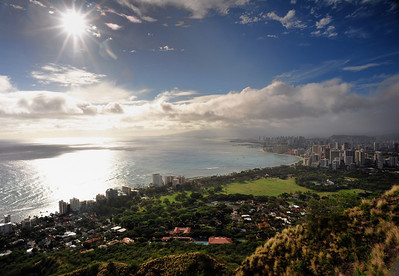 Waikiki from Diamond Head  (C) 2009 Brian Neal