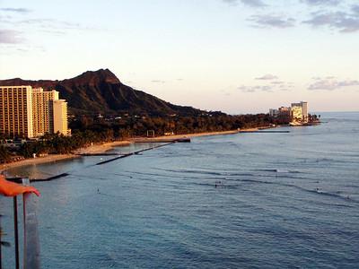 011  Diamond Head and Waikiki Beach