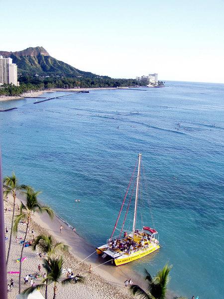 Waikiki, Outrigger Waikiki,  Hiking Diamond Head