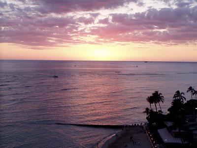 020  Waikiki Sunset