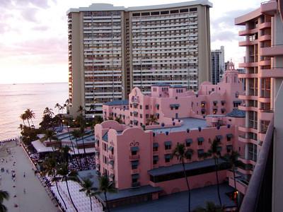 016  Sheraton Waikiki and Royal Hawaiian