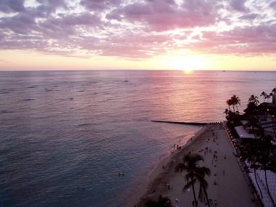 017  Waikiki Sunset