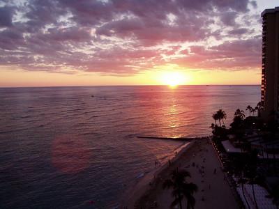 015  Waikiki Sunset