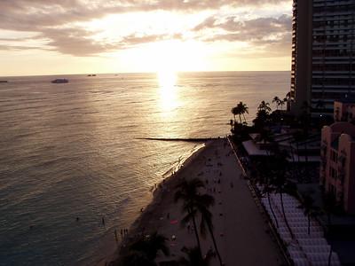 008  Waikiki Sunset