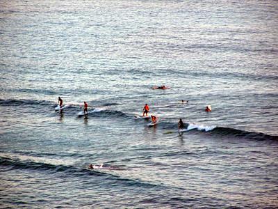 014   Surfing Waikiki