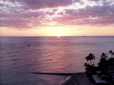 019  Waikiki Sunset