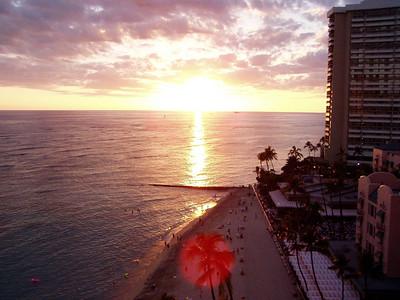 012  Waikiki Sunset