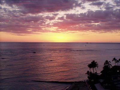 021  Waikiki Sunset