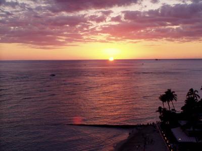 018  Waikiki Sunset