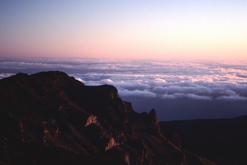 View inside crater of Haleakala #HAL2000-3
