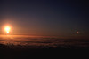 """A surreal vision of the sun above the clouds from summit of Haleakala. Haleakala literally means """"house of the sun"""" #HAL2000-6"""