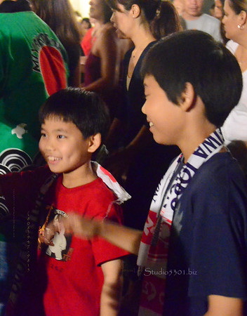 Two boys bon dance Hal 0711 460