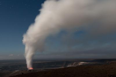 Halema'uma'u vent of Kilauea